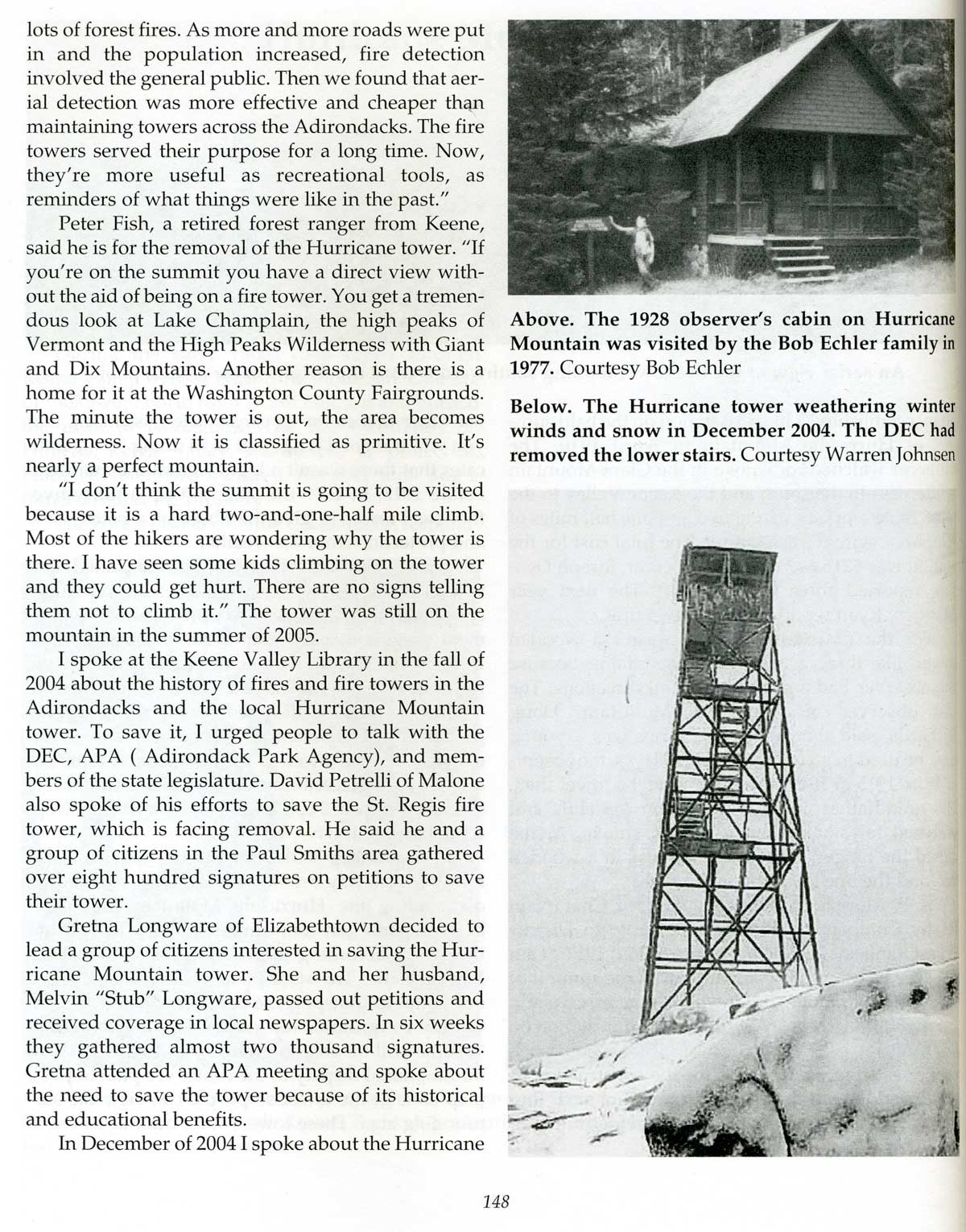 Adirondack Fire Towers: Northern Districts