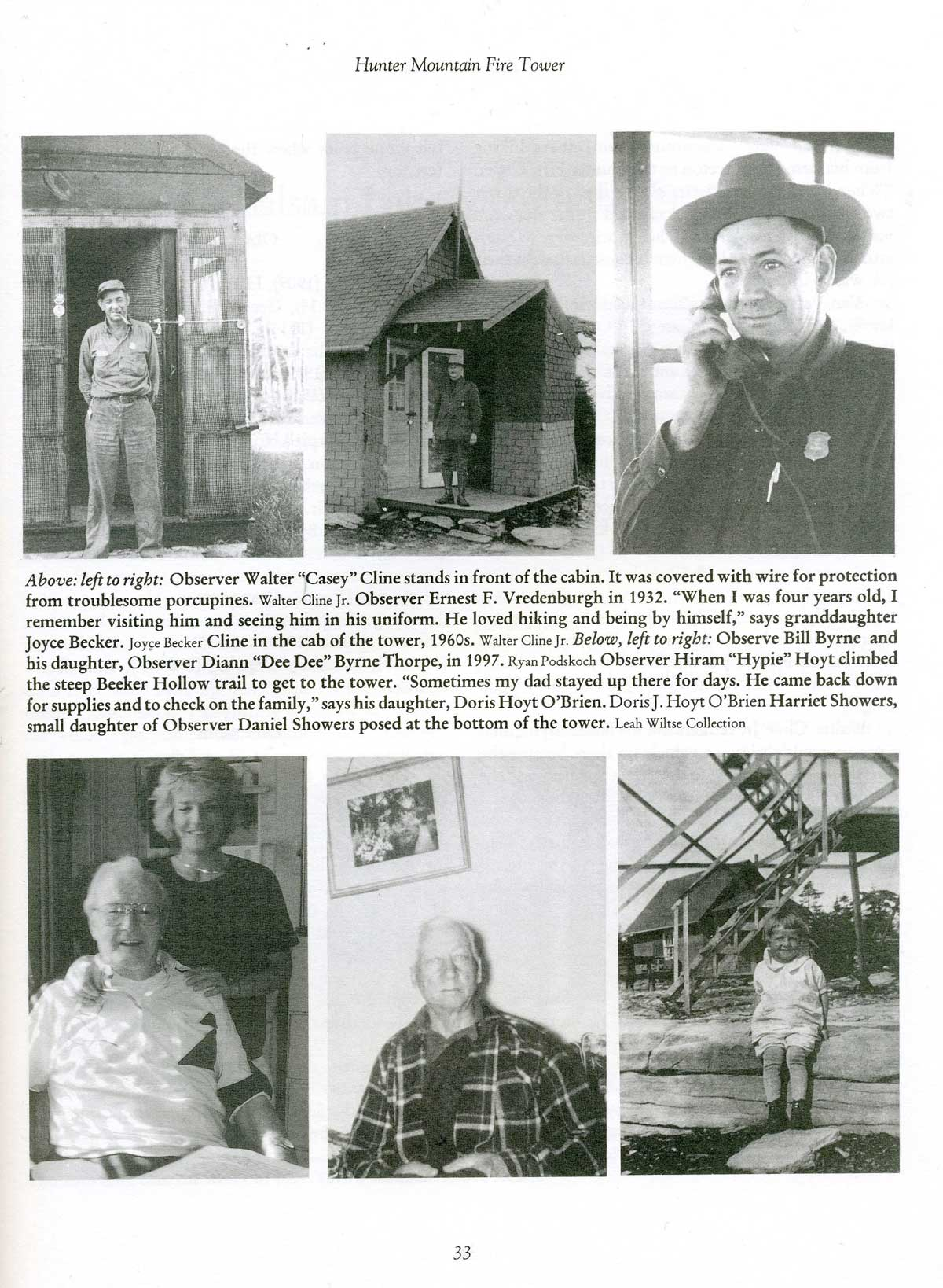 Catskill Fire Towers Book Sample